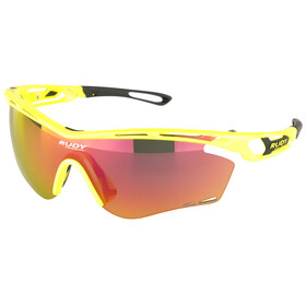 Rudy Project Tralyx Glasses Yellow Fluo Gloss/Multilaser Orange